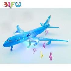 Đồ chơi lắp ráp máy bay chở khách, có đèn phát sáng mới lạ 4.8