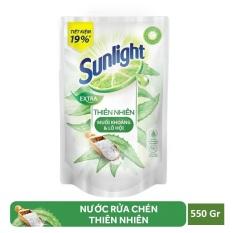 Nước rửa chén Sunlight Lô Hội 550gr (túi) cam kết hàng đúng mô tả chất lượng đảm bảo an toàn đến sức khỏe người sử dụng