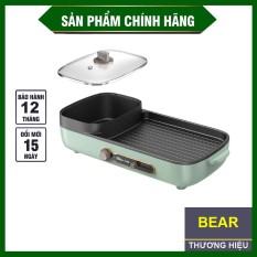 Nồi lẩu nướng đa năng 2 in 1 cao cấp bếp nướng gia đình không khói, không dính Bếp lẩu nướng điện kết hợp tiện dụng,BẢO HÀNH 1 ĐỔI 1