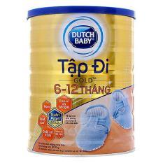 Sữa bột Dutch Lady Tập Đi Gold lon 900g (6-12 tháng)