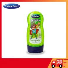 Sữa tắm cho bé Bubchen Đức 2 in 1 (230ml), Sữa tắm gội trẻ em Bubchen Đức 2 in 1