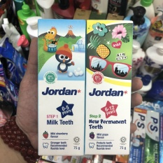 [HCM]Kem đáng răng jordan em bé 0-5 tuổi hoặc 6-12 tuổi