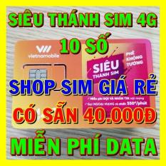 Siêu Thánh Sim 4G Vietnamobile 10 số TẶNG 120gb/tháng + 40.000đ – Shop Sim Giá Rẻ – Sim 4G Vietnamobile