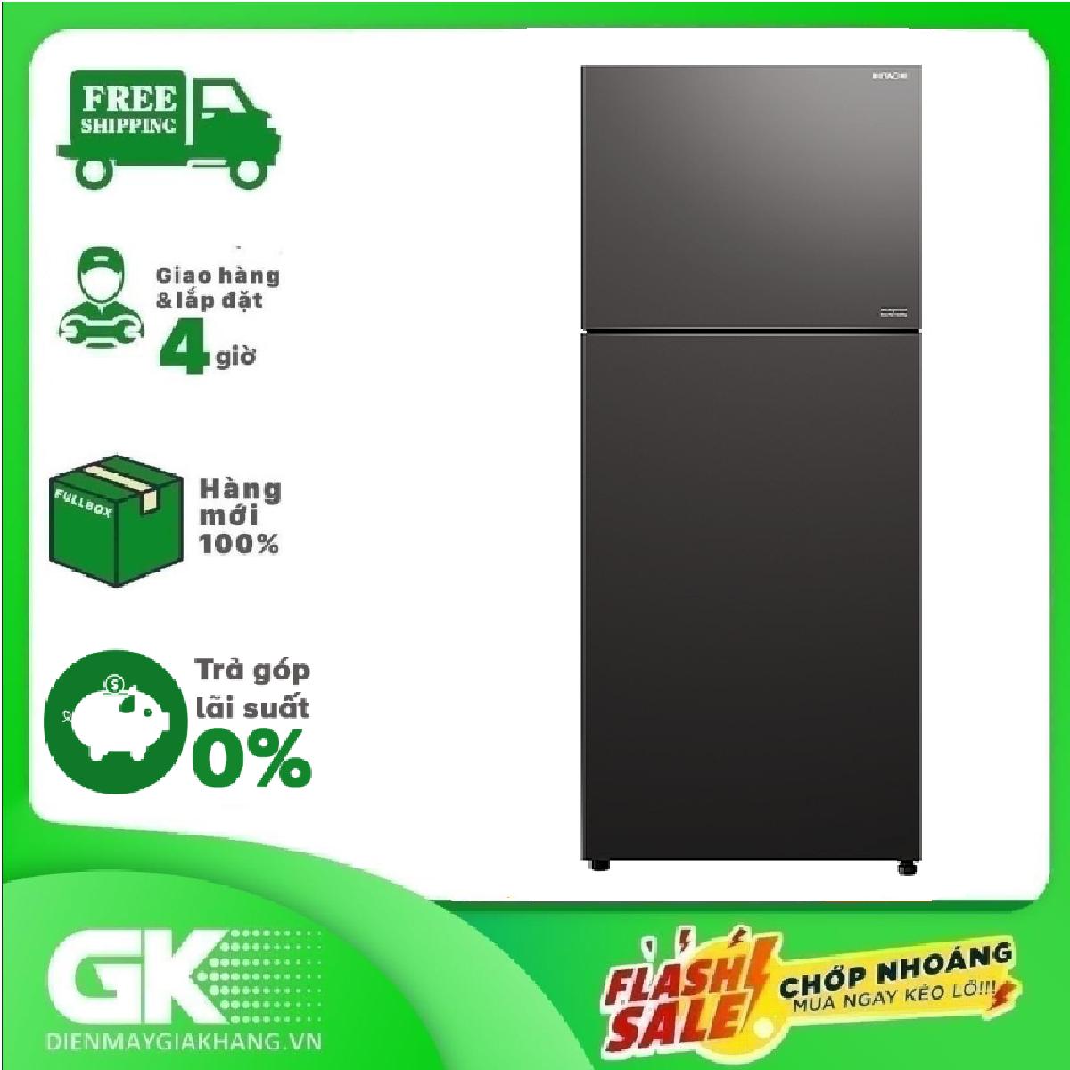 Tủ lạnh Hitachi Inverter 406 Lít R-FVY510PGV0(GMG)