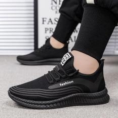 Giày thể thao nam phong cách Hàn Quốc đi làm, đi chơi ( màu Đen) – GN02