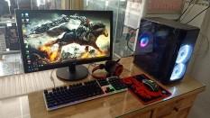 Bộ máy Gaming Led Đẹp Game Online cấu hình cao CPU Core i3 4130 Ram 8G VGA 2G DR5 Màn hình 22in SSD 120G kèm phone phím chuột led