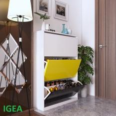 Tủ giày thông minh cánh lật đa năng thương hiệu IGEA – GP20