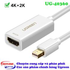 Cáp Thunderbolt – Mini Displayport to HDMI hỗ trợ HD Full HD 2k 4k Ugreen 40360