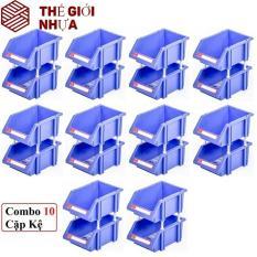 Combo 10 Kệ Dụng Cụ trung Duy Tân 15 x 25 x 11 cm No.717 – DTNo.717/ Nguyên liệu: Nhựa PP chính phẩm cao cấp.
