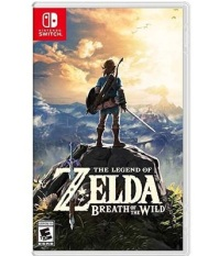 Thẻ game The Legend Of Zelda Breath Of The Wild Nintendo Switch
