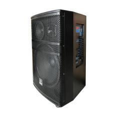 Loa kéo YAMAHA 515A, Loa karaoke bluetooth bass 4 tấc thùng gỗ 600W ( Tặng 2 chống lăn micro )