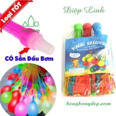 Bộ 111 bong bóng nước Magic Balloons BƠM SIÊU NHANH – Diệp Linh BBN
