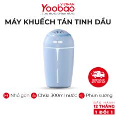 Máy phun sương khuếch tán tinh dầu YOOBAO YB-H05 Dung tích 300ml Chống khô da – Hàng phân phối chính hãng – Bảo hành 12 tháng 1 đổi 1