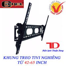 Khung treo TIVI cao cấp nghiêng từ 42-65 inch Camel CMN65