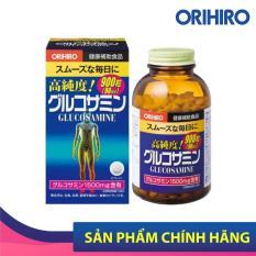 Viên uống bổ sung Glucosamine Orihiro Nhật Bản hỗ trợ xương khớp hiệu quả, 900 viên/hộp