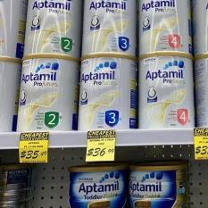 SỈ LẺ -Sữa Aptamil Profutura 900gr SỐ 3 và SỐ 4 DATE 2021