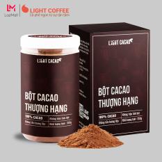 Bột cacao Thượng hạng Premium , nguyên chất không đường, tốt cho bé Light Cacao – Hũ 350g Cacao Premium