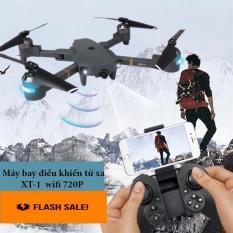 Flycam, Máy Bay Camera Giá Rẻ, Máy Bay Điều Khiển Từ Xa XT-1 Wifi 720P, Flycam XT-1 Động Cơ Mạnh Mẽ, Camera Chống Rung Quang Học- Tốc Độ Khủng Khiếp – Nơi Hội Tụ Đồ Chơi Công Nghệ , Sale Cực Sốc…