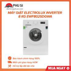 Máy giặt Electrolux Inverter 8 Kg EWF8025DGWA , loại máy giặt cửa trước, lồng ngang với 10 chương trình hoạt động – Bảo hành 2 năm