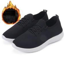 Giày Sneaker Thể Thao Nam Nữ GL – A03 (Màu Đen- Đỏ)