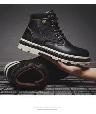 Giày boot da nam SS510 shop SUNSUN chuyên giày boot nam