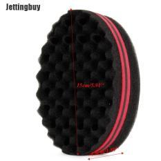 Jettingbuy Black Man Hair Braider Twist Sponge Fir Afro Dreadlocks Curl Brush Sponge Barber