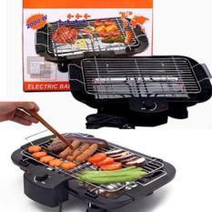 Bếp nướng không khói Electric Barbecue Grill 2000W (Đen)