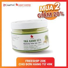 [MÃ GIẢM 20%] Bột trà xanh sữa , matcha sữa , matcha chính hãng Nhật Bản, thơm ngon , tiện lợi , đặc biệt không hương liệu , sản phẩm bán chạy , hũ 230g
