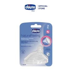 Núm ty nghiêng Pisa Natural Feeling chảy trung bình Chicco 2M+
