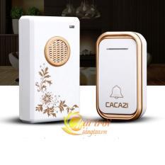 Chuông không dây chống nước CACAZI V002F Bộ cơ bản