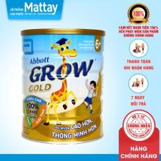 Sữa Bột Abbott Grow Gold 6+ ( Dùng Cho Bé 6 Tuổi Trở Lên ) – USA -Lon 900g – Giúp Bé Cao Lớn, Thông Minh