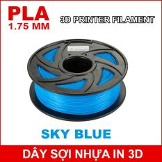 Dây sợi nhựa PLA in 3D 1.75mm 1Kg Sky Blue