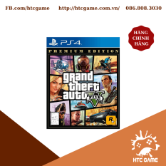 Đĩa game PS4 Grand Thief Auto V GTA 5 Premium Edition