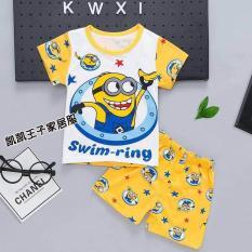 Bộ quần áo cho bé trai mẫu Minion