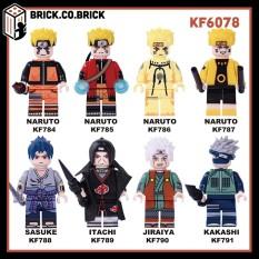 KF6078 – Đồ Chơi Lắp Ráp Minifigure Nhân Vật Lego Những Ninja Làng Lá Điêu Luyện Naruto.