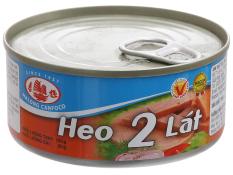 Combo 5 hộp heo 2 lát Hạ Long – 150g, hương vị thơm ngon, dây chuyền công nghệ hiện đại, đảm bảo an toàn vệ sinh thực phẩm