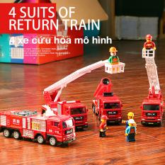 Xe mô hình đồ chơi xe cứu hỏa đồ chơi tư duy cho bé, chất liệu nhựa an toàn, đẹp, sắc sảo chi tiết dễ nhớ, giúp bé nhận biết, phân biệt và nhớ được cái loại xe khi chơi, phát triển trí não của trẻ.