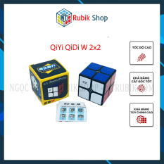 [Rubik 2x2x2] Rubik giá rẻ QiYi QiDi W 2×2 Viền đen (Black)