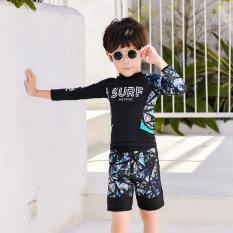 Đồ bơi bé trai tay dài chống nắng