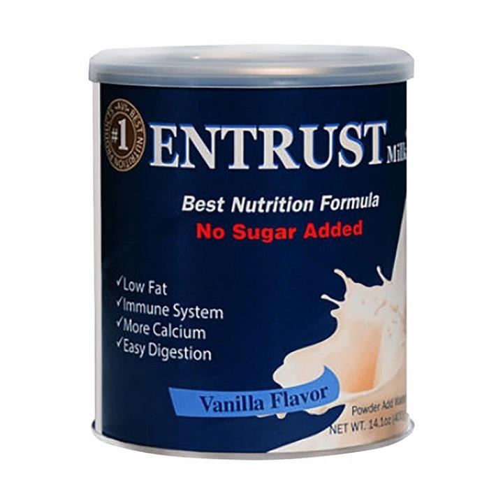 Sữa bột dinh dưỡng dành cho người tiểu đường ENTRUST USA 400g