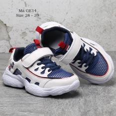 Giày thể thao cho bé trai bé gái 4 – 15 tuổi kiểu Hàn Quốc siêu nhẹ GE14