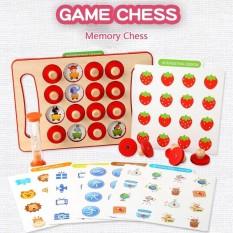 Đồ chơi gỗ lật hình tìm cặp giống nhau luyện trí nhớ và khả năng quan sát cho bé