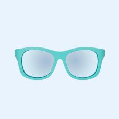 Kính chống tia cực tím có tròng kính phân cực cho bé Babiators – The Surfer, Xanh ngọc, Tráng gương xanh, 3-5 tuổi