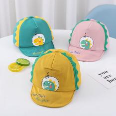 Mũ lưỡi trai KHỦNG LONG nhiều màu cho bé trai bé gái 6-24 tháng – MU18