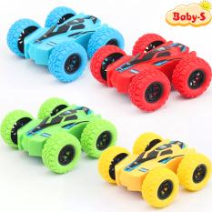 Xe địa hình đồ chơi, Xe đồ chơi cho bé trượt lật theo quán tính có thể chạy cả 2 mặt siêu hot bằng nhựa nguyên sinh ABS an toàn cho bé yêu Baby-S – SDC029