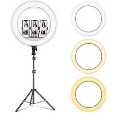 (TOP BÁN CHẠY ) Đèn LED Livestream 54cm, Thiết Kế Mới, Chất Liệu Chịu Lực Nên Bền Và Tốt Hơn, Công Suất 80W, Chân Đế Linh Hoạt Chắc Chắn, Thay Đổi Độ Sáng Led, Tuổi Thọ Lên Đến 20.000 Giờ, Tích Hợp 3 Kẹp Điện Tiện Lợi .