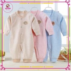 Body dài tay liền thân cotton cho bé trai và gái sơ sinh từ 3-12kg, hàng đẹp xuất nhật (trả lại shop nếu không vừa)