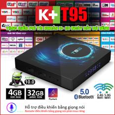 Android TV BOX RAM 4G, Bộ nhớ 32G, xem phim 6K, chơi game, hỗ trợ tính năng tìm kiếm bằng giọng nói mới nhất hiện nay chưa bao gồm remote giọng nói, bảo hành 12 tháng X10 PLUS