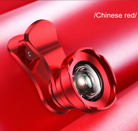 Ống kính camera điện thoại Baseus Short Videos Magic Camera góc rộng 120 HD + 15X cho Iphone Samsung Xiaomi