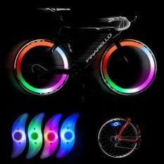 Đèn led gắn bánh xe đạp HìNH CÁNH QUẠT 3 chế độ sáng chống nước – Mẫu Mới 2019